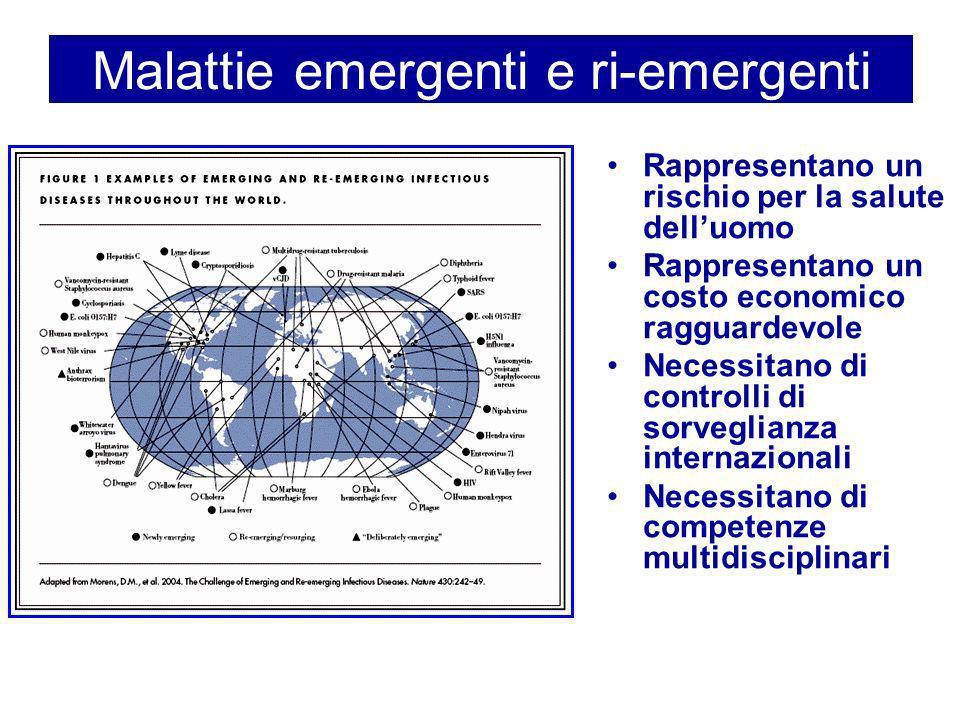 Malattie emergenti e ri-emergenti