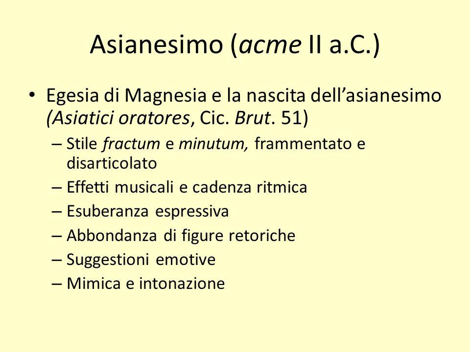 Asianesimo (acme II a.C.)