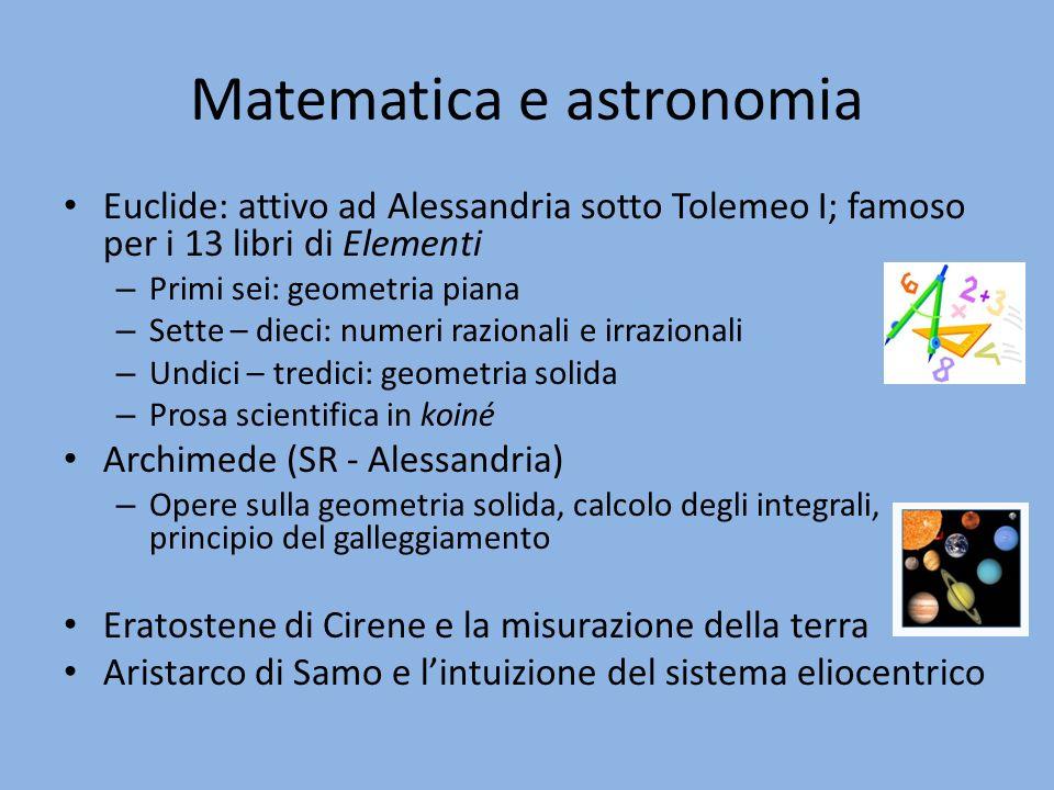Matematica e astronomia