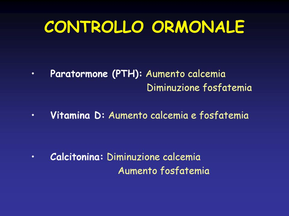 27/03/2017 CONTROLLO ORMONALE