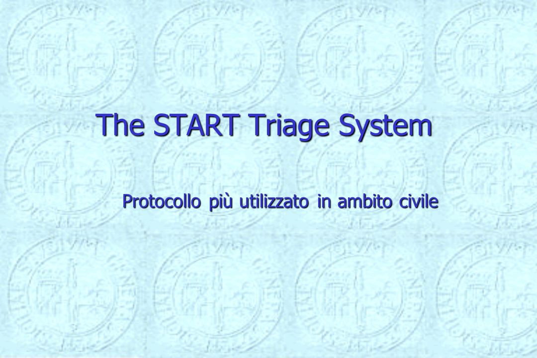 The START Triage System
