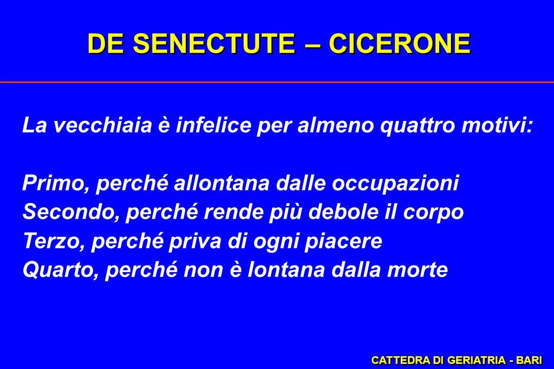 DE SENECTUTE – CICERONE