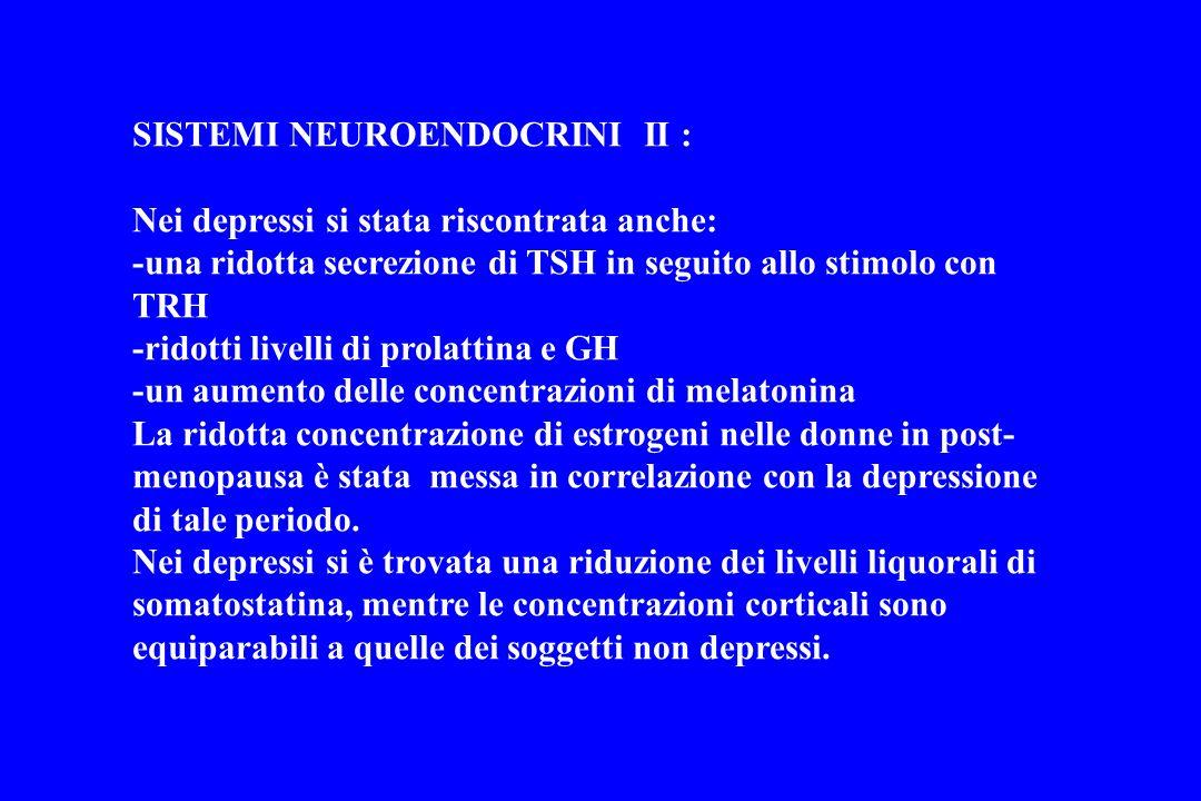 SISTEMI NEUROENDOCRINI II :