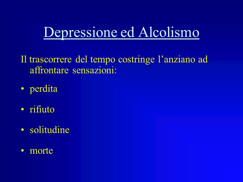 Depressione ed Alcolismo