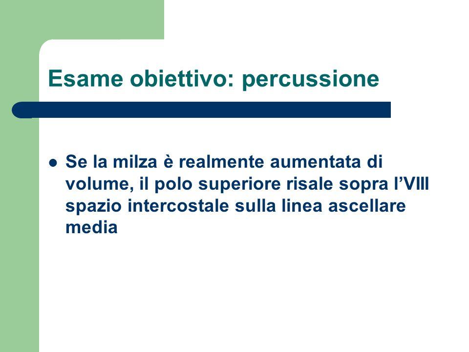 Esame obiettivo: percussione