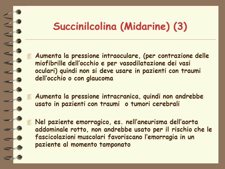 Succinilcolina (Midarine) (3)