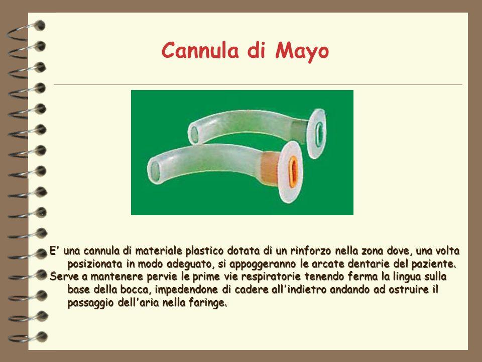Cannula di Mayo