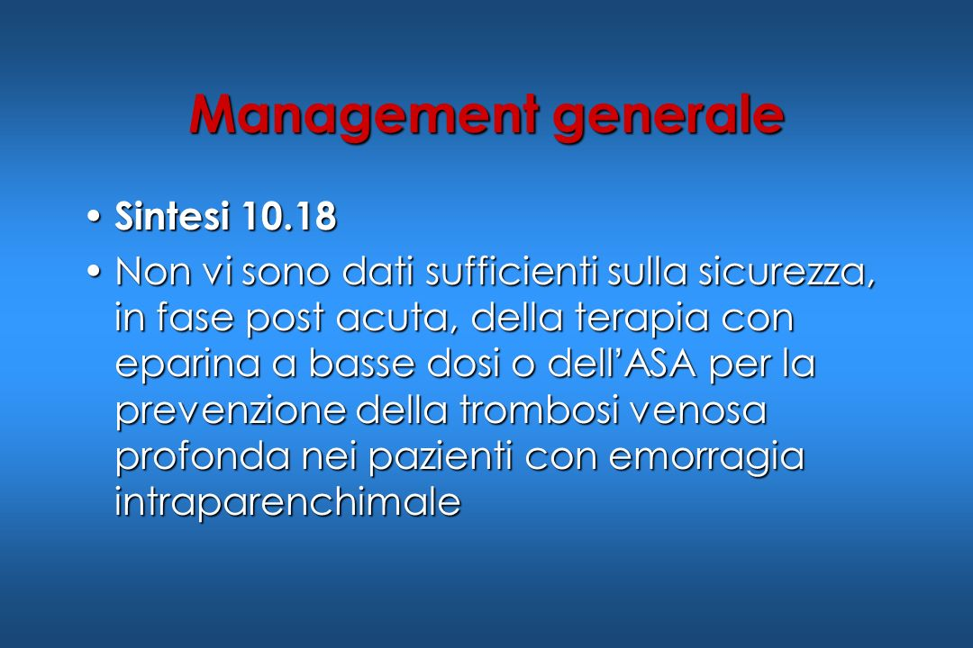 Management generale Sintesi 10.18