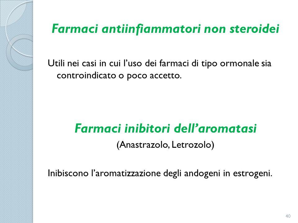 Farmaci antiinfiammatori non steroidei