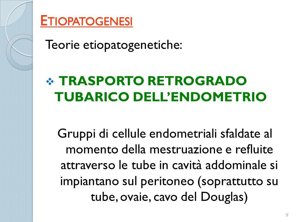 Etiopatogenesi Teorie etiopatogenetiche: