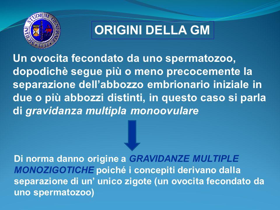 ORIGINI DELLA GM
