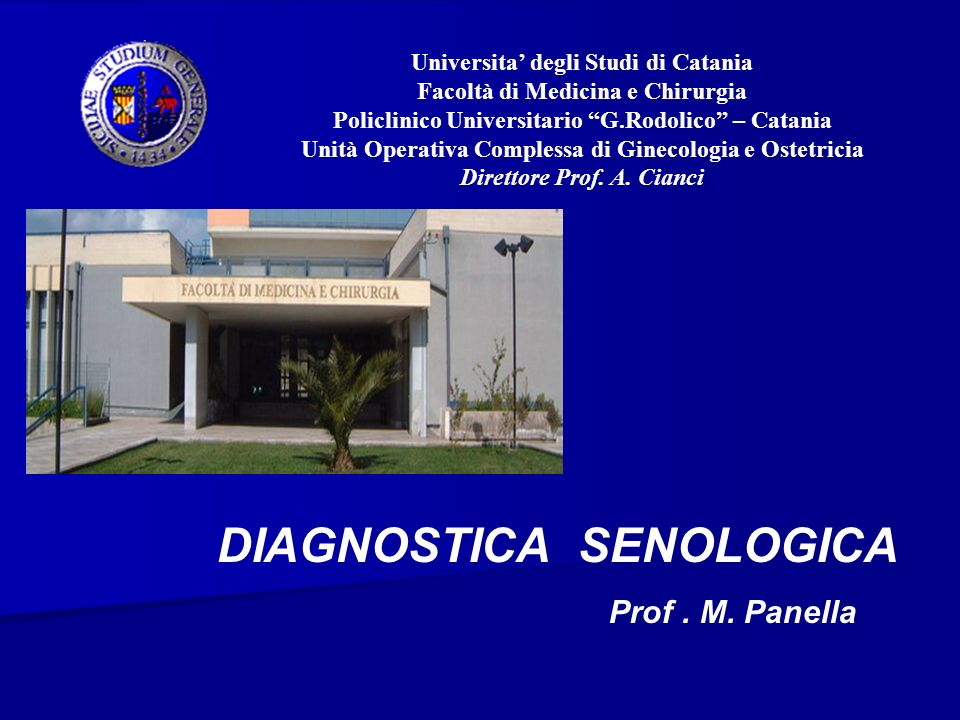 DIAGNOSTICA SENOLOGICA