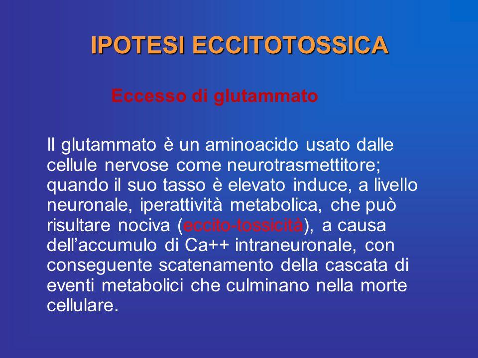 IPOTESI ECCITOTOSSICA