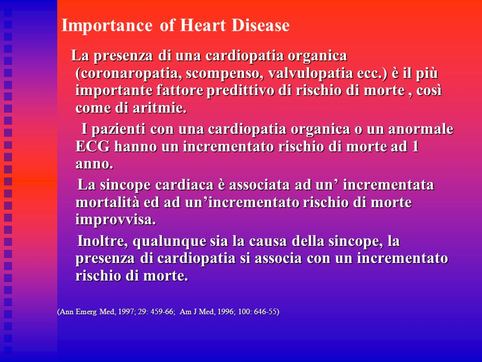 Importance of Heart Disease