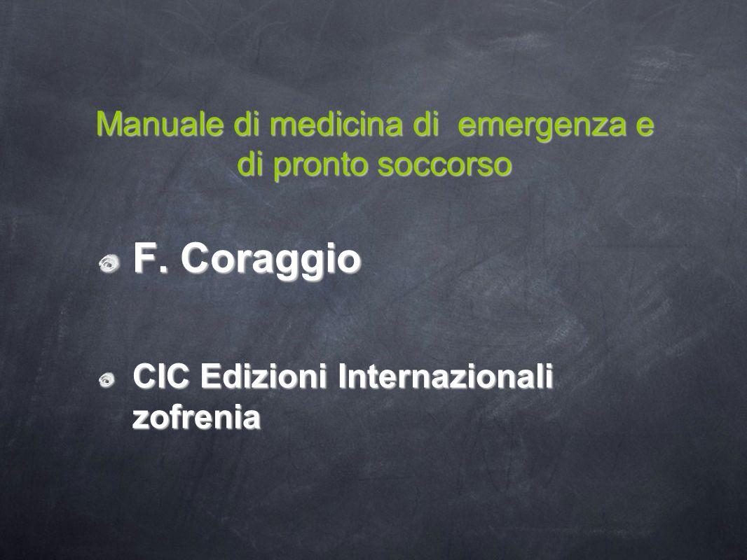 Manuale di medicina di emergenza e di pronto soccorso