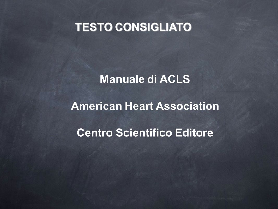 American Heart Association Centro Scientifico Editore