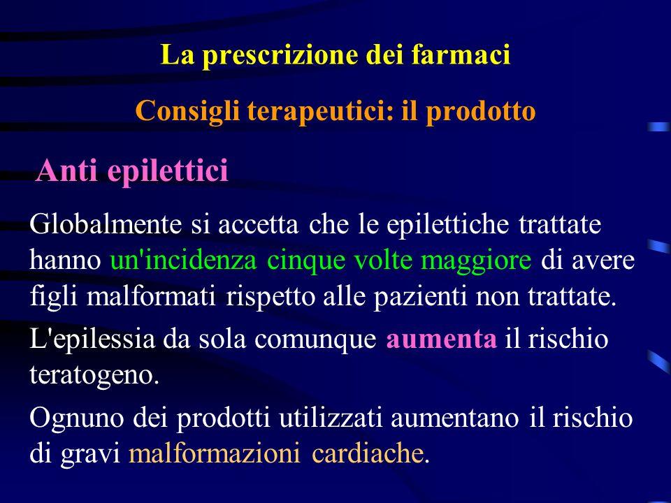 La prescrizione dei farmaci