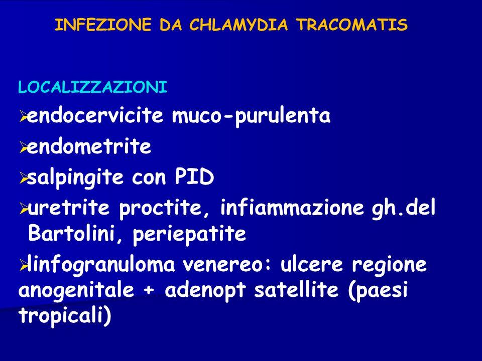 INFEZIONE DA CHLAMYDIA TRACOMATIS