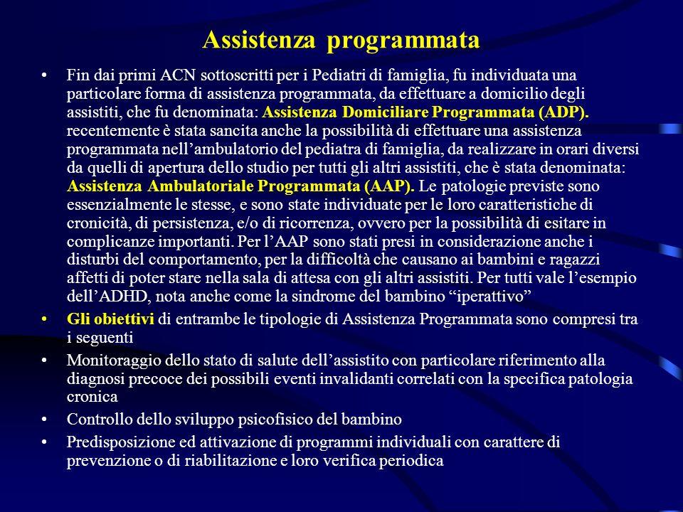 Assistenza programmata