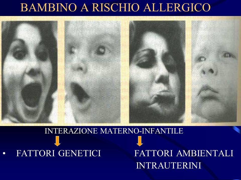BAMBINO A RISCHIO ALLERGICO