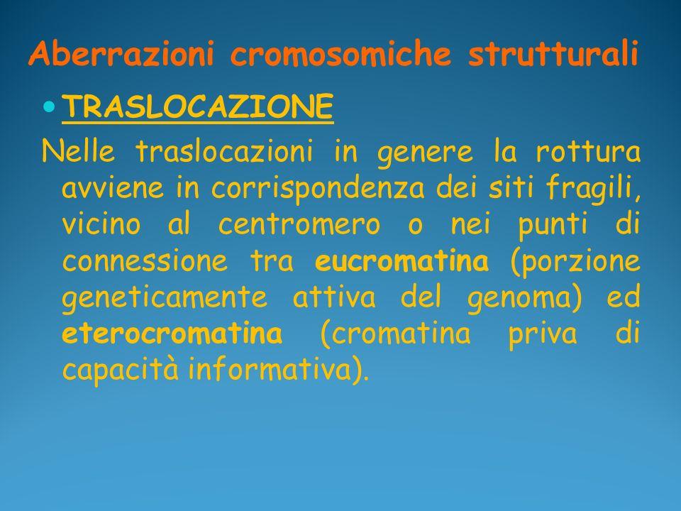Aberrazioni cromosomiche strutturali