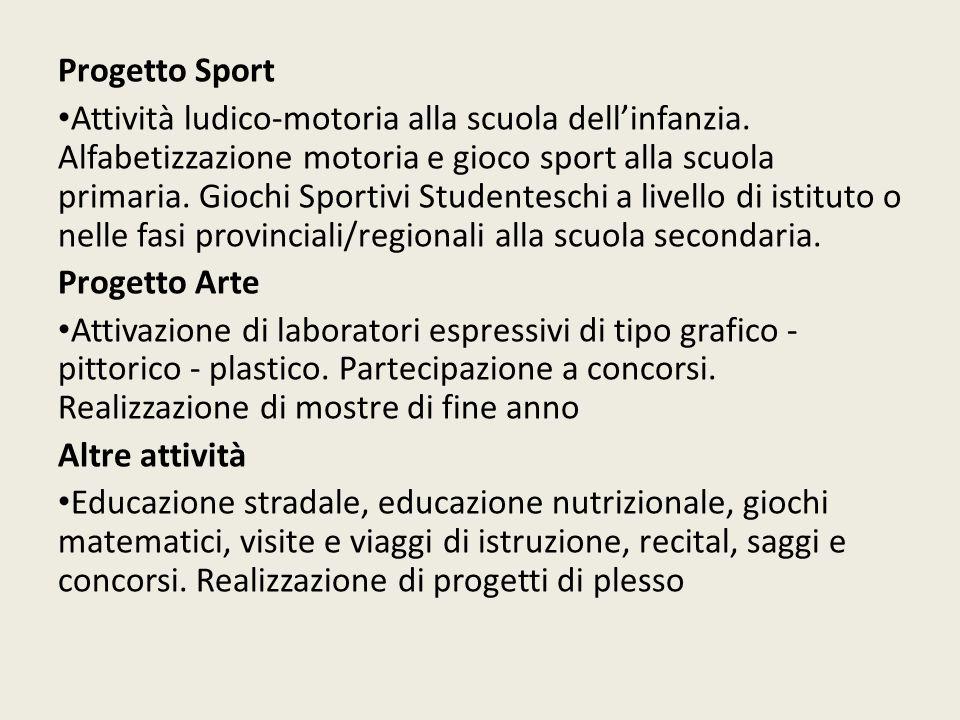 Progetto Sport