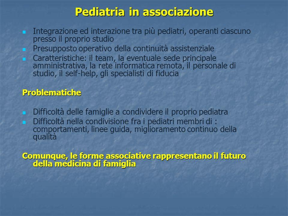 Pediatria in associazione