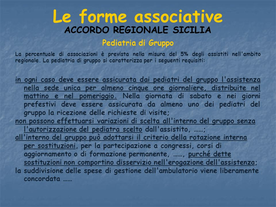 ACCORDO REGIONALE SICILIA