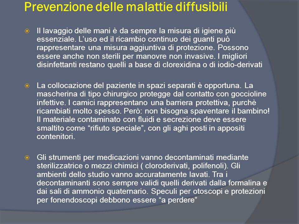 Prevenzione delle malattie diffusibili