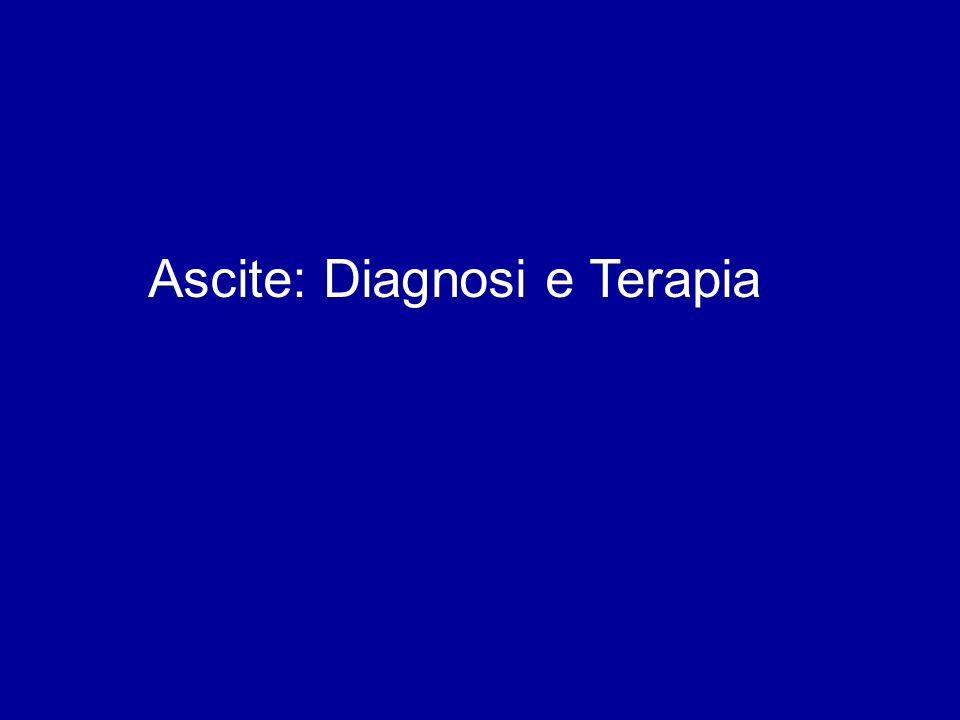 Ascite: Diagnosi e Terapia
