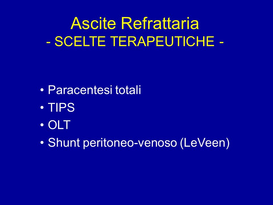 - SCELTE TERAPEUTICHE -