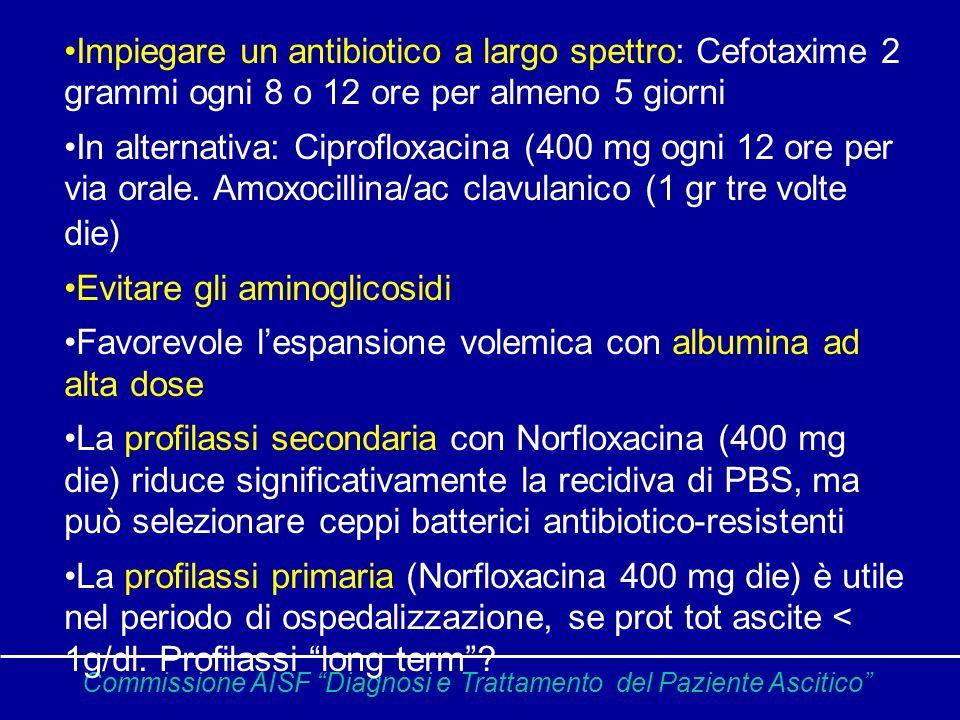Evitare gli aminoglicosidi