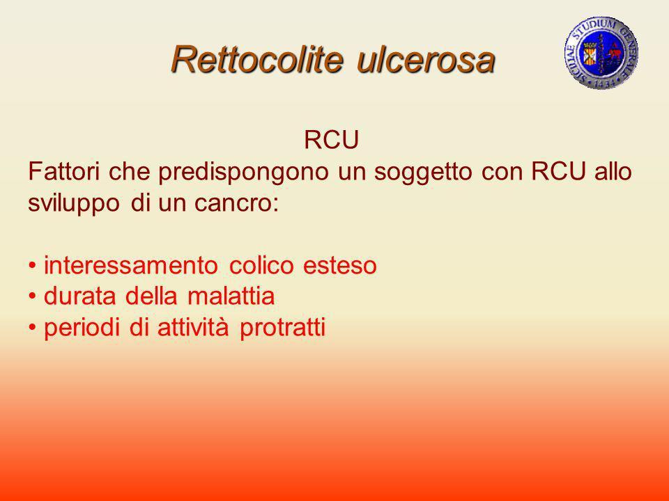 Rettocolite ulcerosa RCU