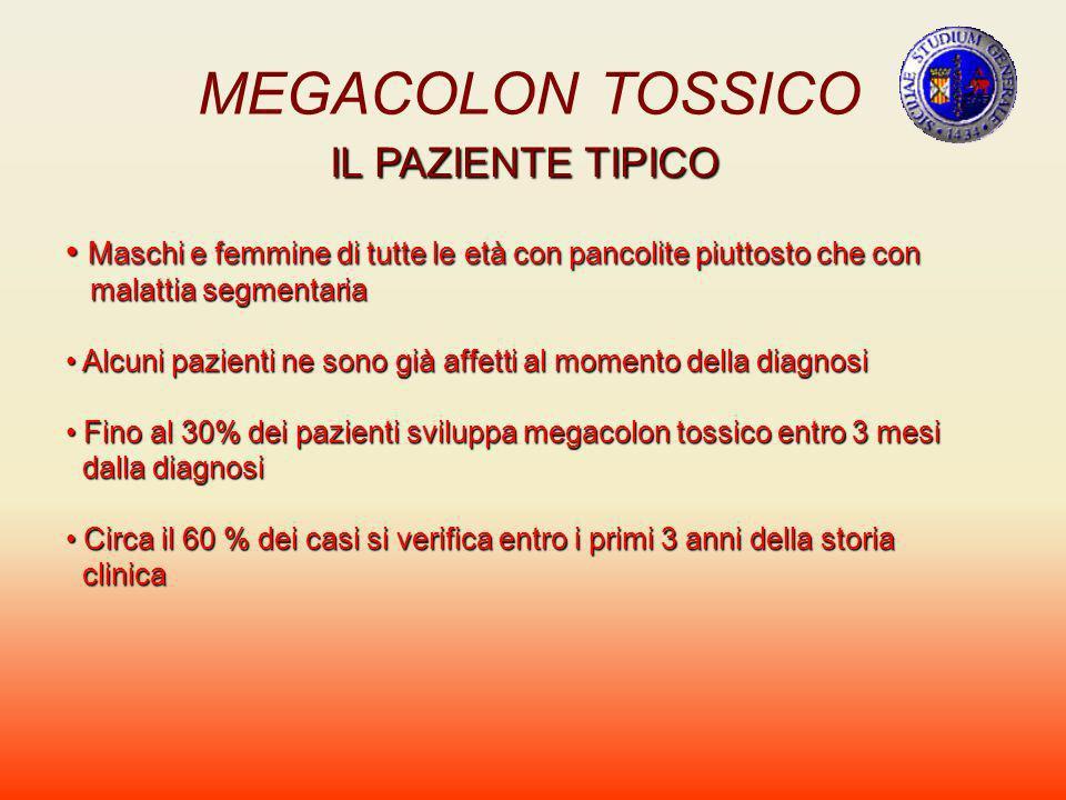MEGACOLON TOSSICO IL PAZIENTE TIPICO