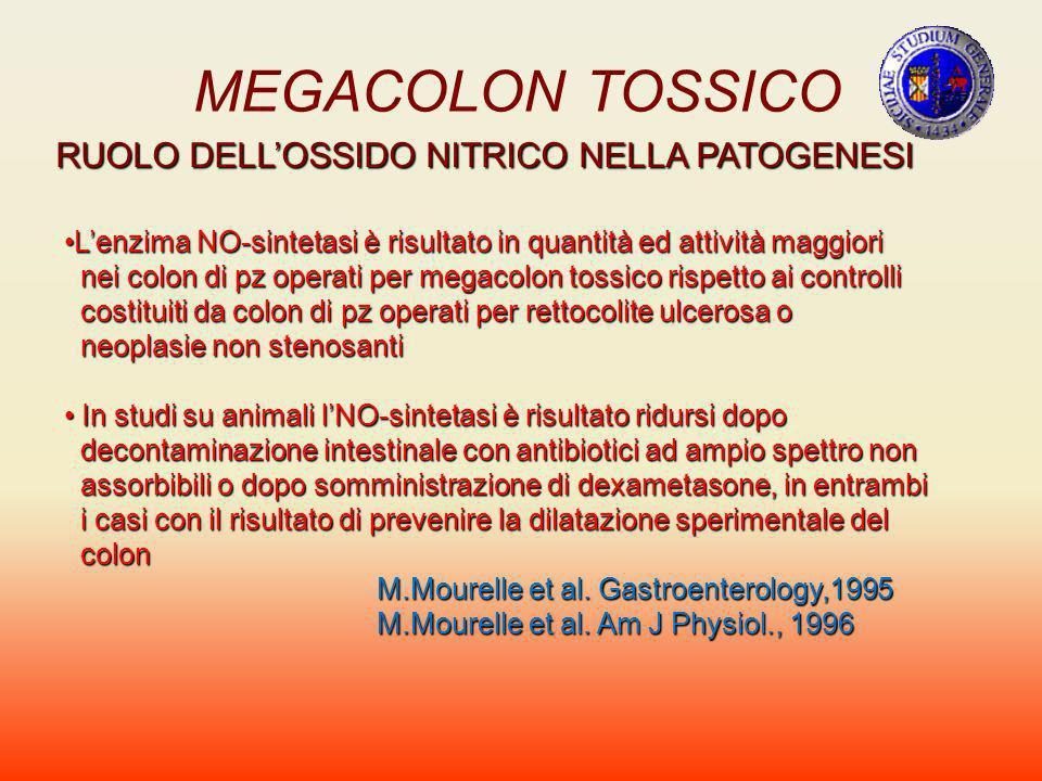 MEGACOLON TOSSICO RUOLO DELL'OSSIDO NITRICO NELLA PATOGENESI