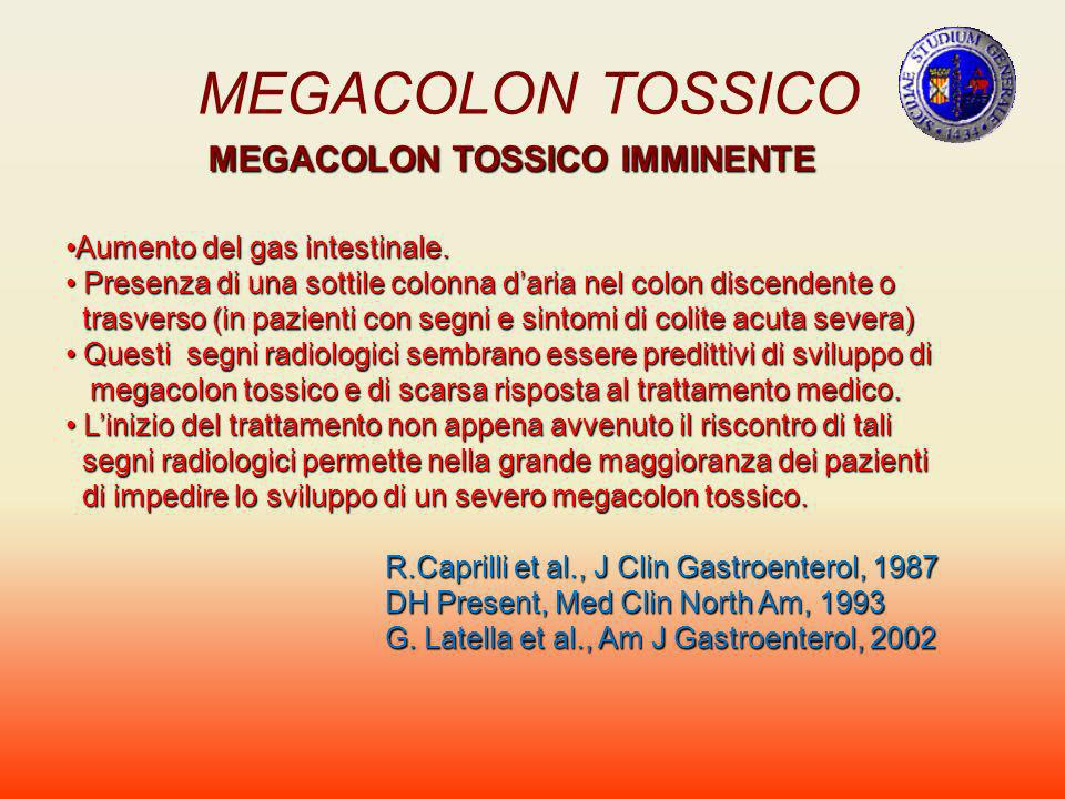 MEGACOLON TOSSICO IMMINENTE