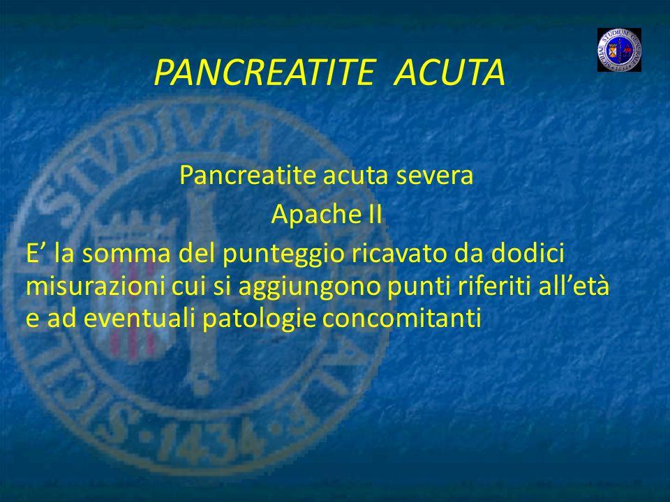 Pancreatite acuta severa