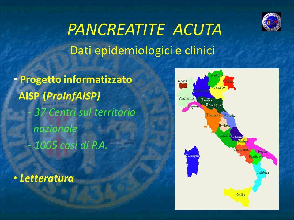 Dati epidemiologici e clinici