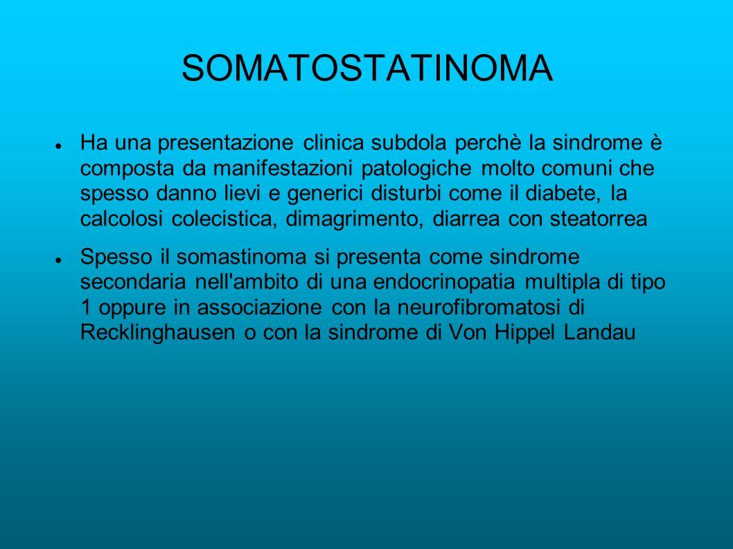 SOMATOSTATINOMA
