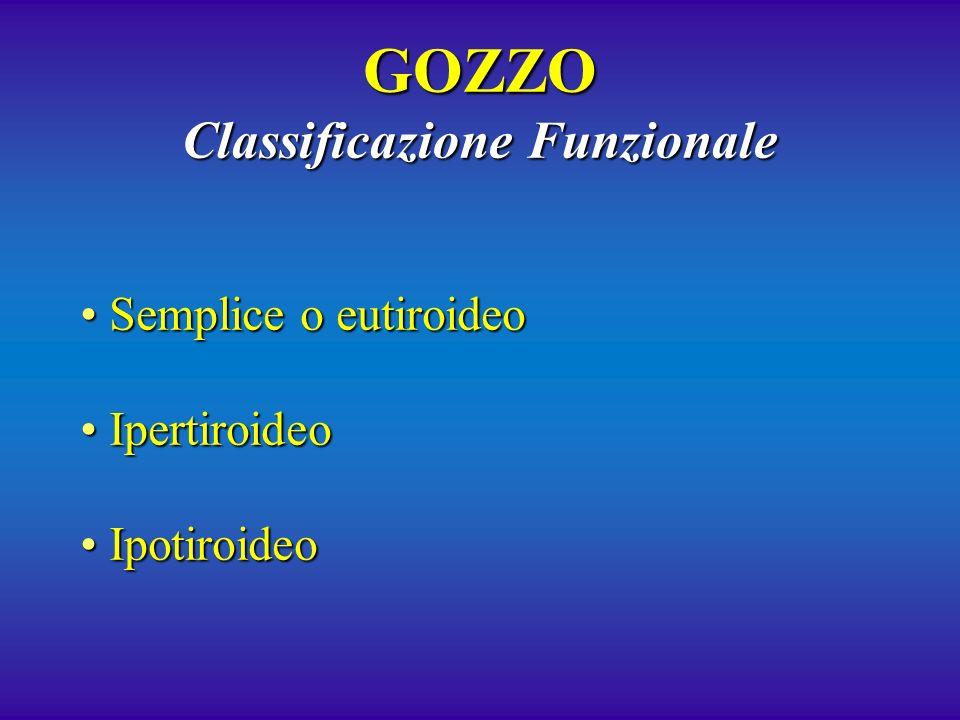 GOZZO Classificazione Funzionale