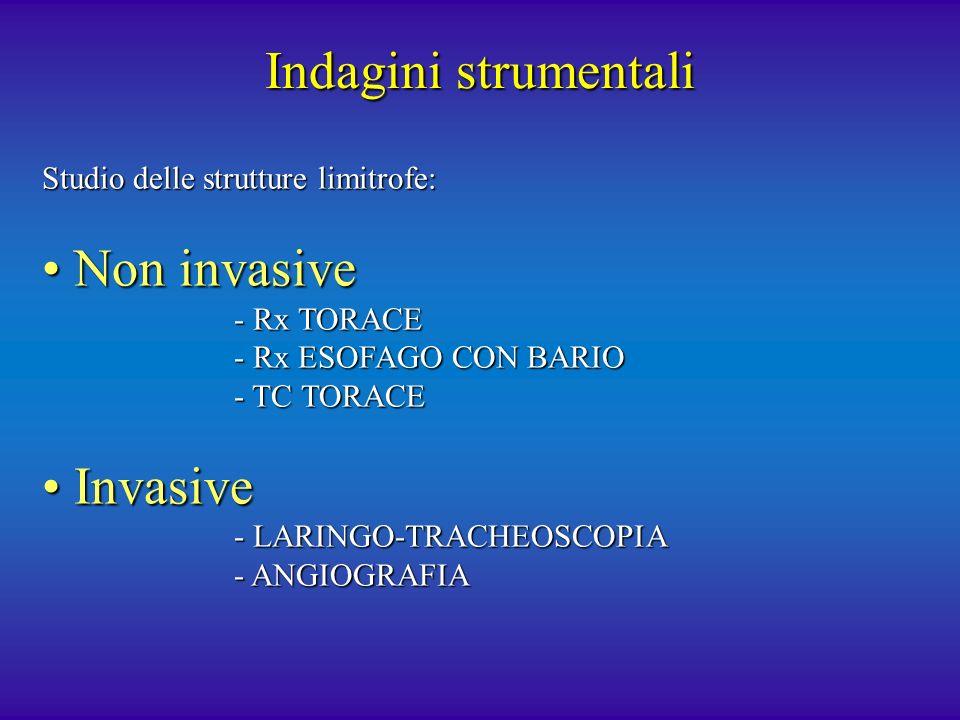 Indagini strumentali Non invasive Invasive