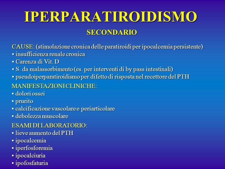 IPERPARATIROIDISMO SECONDARIO