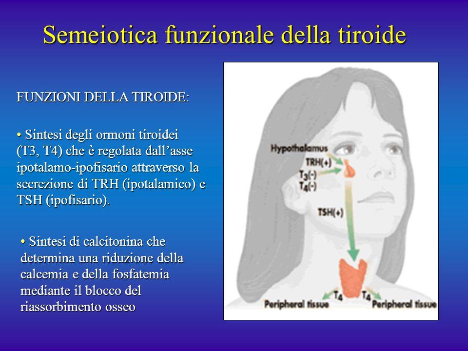 Semeiotica funzionale della tiroide