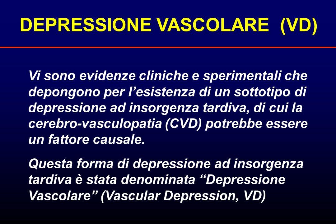 DEPRESSIONE VASCOLARE (VD)