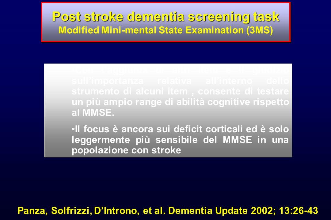 Panza, Solfrizzi, D'Introno, et al. Dementia Update 2002; 13:26-43