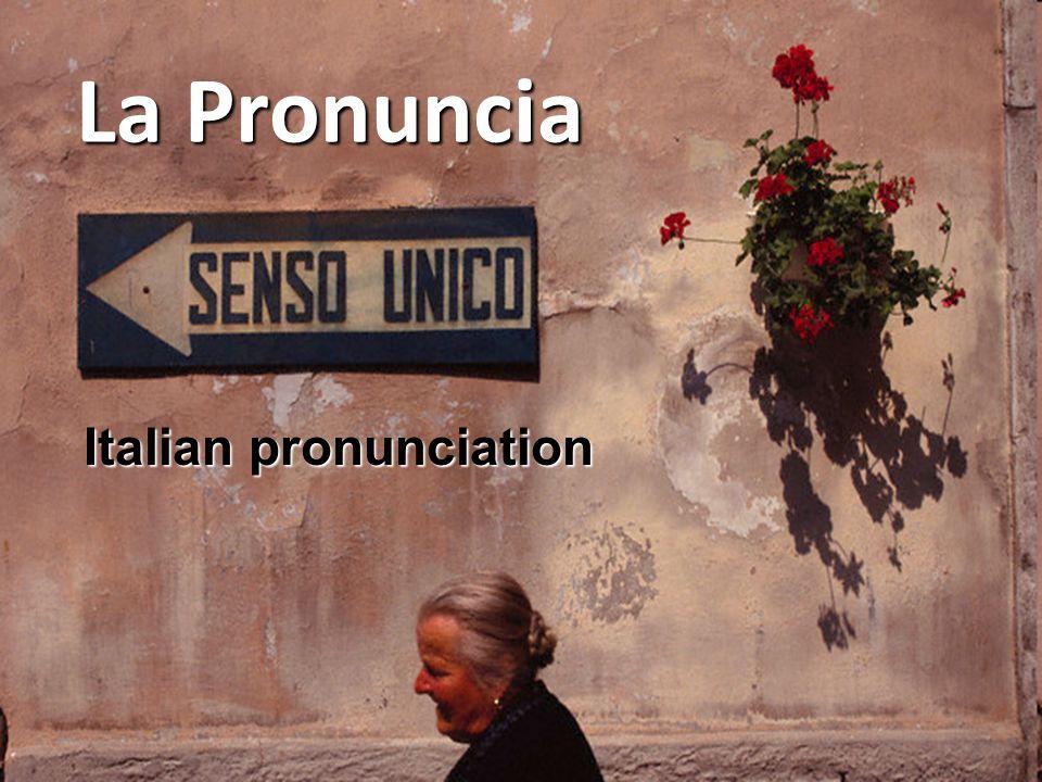 Italian pronunciation