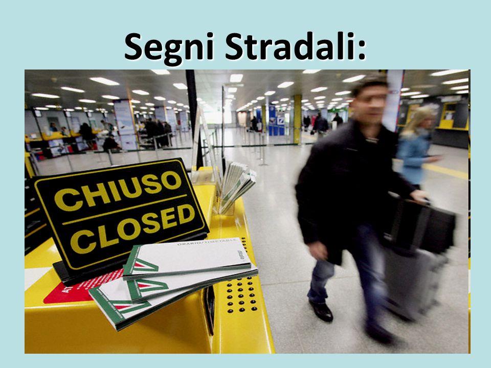 Segni Stradali: