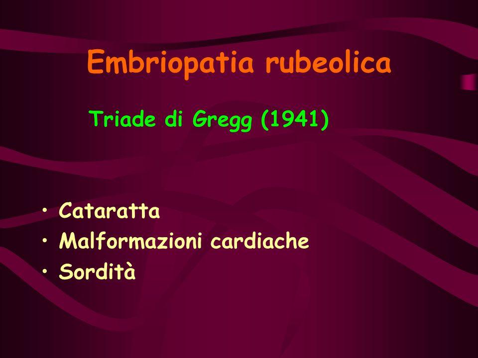 Embriopatia rubeolica