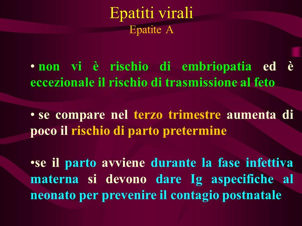 Epatiti virali Epatite A
