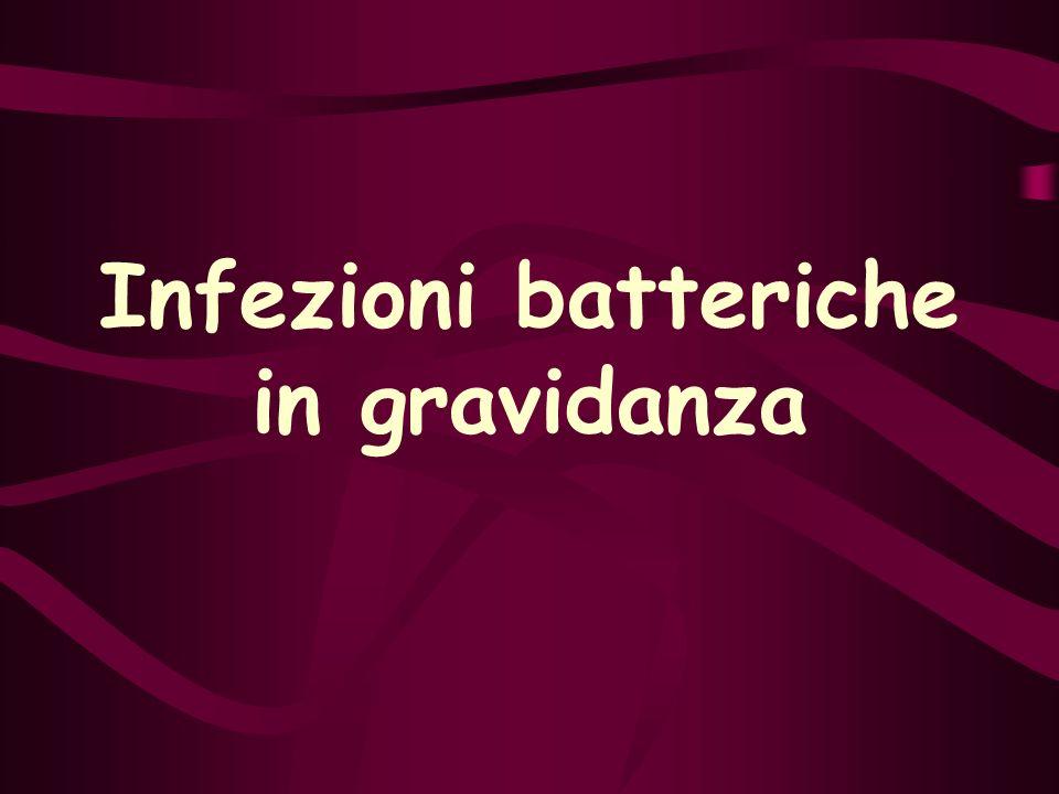 Infezioni batteriche in gravidanza